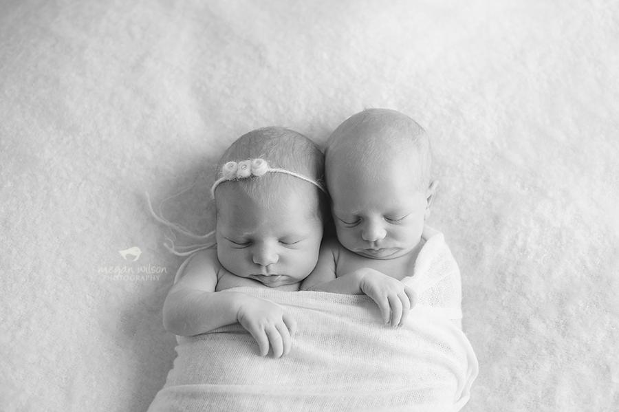 Woodstock Twin Newborn Photographer